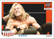 2008 WWE Heritage IV Trading Cards (Topps) Edge 15