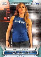 2019 WWE Women's Division (Topps) Becky Lynch 87