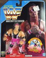 WWF Hasbro 1992 Bret Hart (Purple Heart)