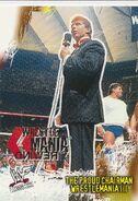 2001 WWF WrestleMania (Fleer) The Proud Chairman 85