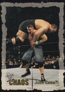 2004 WWE Chaos (Fleer) John Cena 63