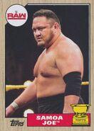 2017 WWE Heritage Wrestling Cards (Topps) Samoa Joe 33