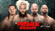 PB 2017 Enzo Amore & Big Cass v Luke Gallows & Karl Anderson