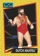1991 WCW (Impel) Dutch Mantell 77