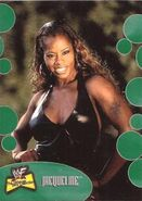 2001 WWF The Ultimate Diva Collection (Fleer) Jacqueline 39