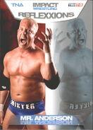 2012 TNA Impact Wrestling Reflexxions Trading Cards (Tristar) Mr. Anderson 23