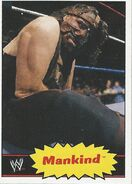 2012 WWE Heritage Trading Cards Mankind 51