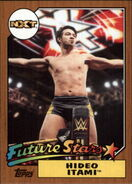 2017 WWE Heritage Wrestling Cards (Topps) Hideo Itami 5