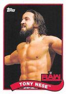 2018 WWE Heritage Wrestling Cards (Topps) Tony Nese 83