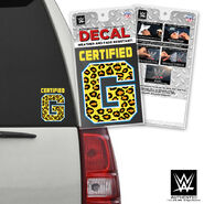 Enzo & Big Cass Certified G Car Decal
