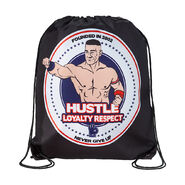 John Cena Hustle Loyalty Respect Drawstring Bag