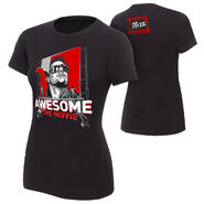 The Miz Awesome The Movie Women's Authentic T-Shirt
