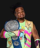 WWEXavierWoodsWWESmackdownTagTeamChampion