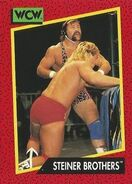 1991 WCW (Impel) Steiner Brothers 104
