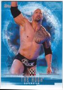 2017 WWE Undisputed Wrestling Cards (Topps) The Rock 29