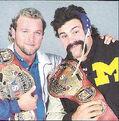 Eddie Gilbert and Rick Steiner