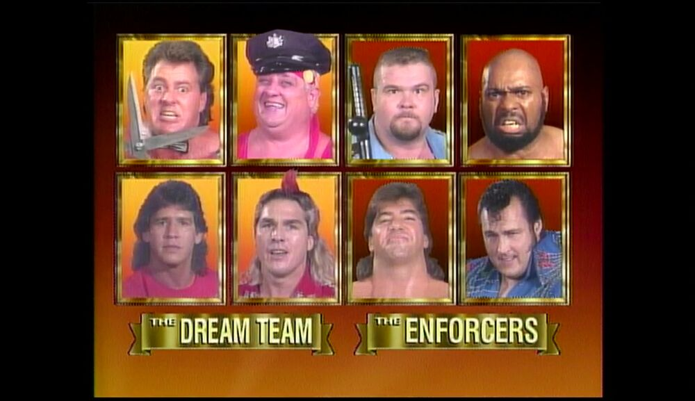 The Dream Team vs The Enforcers
