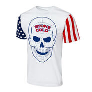 Stone Cold Steve Austin Stars & Stripes Collection T-Shirt