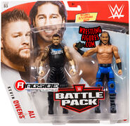 WWE Battle Packs 65 Ali & Kevin Owens