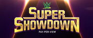 WWE Super Show Down New Logo