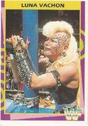 1995 WWF Wrestling Trading Cards (Merlin) Luna Vachon 161