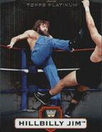 2010 WWE Platinum Trading Cards Hillbilly Jim 51
