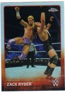 2015 Chrome WWE Wrestling Cards (Topps) Zack Ryder 77