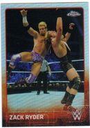 2015 Chrome WWE Wrestling Cards (Topps) Zack Ryder 77