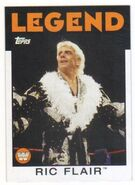 2016 WWE Heritage Wrestling Cards (Topps) Ric Flair 95