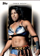 2017 WWE Women's Division (Topps) Ember Moon 5
