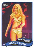 2018 WWE Heritage Wrestling Cards (Topps) Mandy Rose 46
