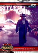 2019 WWE Road to WrestleMania Trading Cards (Topps) Undertaker 37