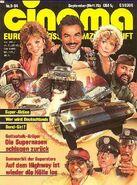 Cinema - Septembe 1984