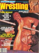 Sports Review Wrestling - January 1981
