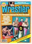 The Wrestler - January 1989
