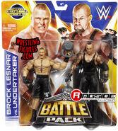 WWE Battle Packs 30 Brock Lesnar & Undertaker