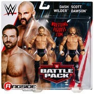 WWE Battle Packs 51 The Revival - Scott Dawson & Dash Wilder