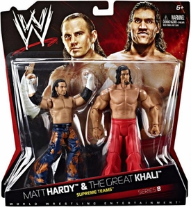 NEW STYLE WWE Matt And Jeff Hardy Boyz Boys Woken Battlepack Action Figure 59