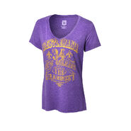 WrestleMania 34 The Grandest Stage Women's V-Neck T-Shirt