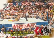 2001 WWF WrestleMania (Fleer) The Stars And Stripes Challenge 87