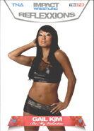2012 TNA Impact Wrestling Reflexxions Trading Cards (Tristar) Gail Kim 82