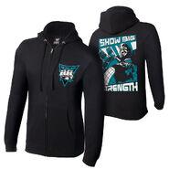 Big Show Show Big Strength Full-Zip Hoodie Sweatshirt