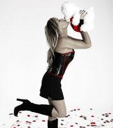 Lillian Garcia 2009 WWE Valentine's Day Shoot