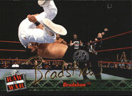2001 WWF RAW Is War (Fleer) Bradshaw 32