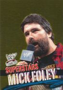 2001 WWF WrestleMania (Fleer) Mick Foley 14