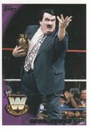 2010 WWE (Topps) Paul Bearer (No.102)