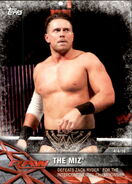 2017 WWE Road to WrestleMania Trading Cards (Topps) The Miz 69