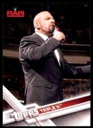 2017 WWE Wrestling Cards (Topps) Triple H 33