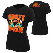 Alicia Fox Crazy Like a Fox Women's Authentic T-Shirt