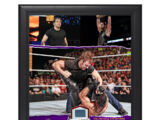 Dean Ambrose Night of Champions Commemorative Framed Ring Canvas Plaque